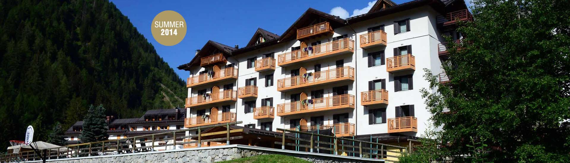 Hotel Cristallo val di pejo estate